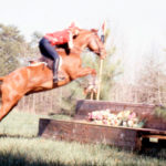 TRHC---1990-Horse-Trials---woman-rider-and-brown-horseOPT